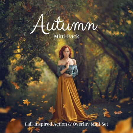 JD Autumn Mini Set Actions and Overlays Cover