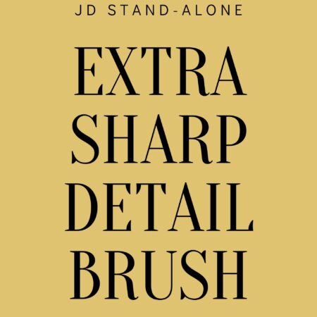 Extra Sharp Detail Brush